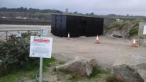 The owner of the Black Lobster at Hayle now wants to move it to Lelant